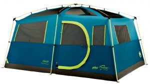 Coleman Tenaya Lake Fast Pitch Cabin 8 Person Tent with Closet - 8-person tents