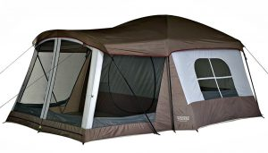 Wenzel 8 person Klondike - 8 man tent with poles